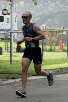 runner Marble Falls Triathlon